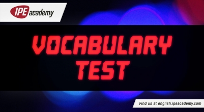 IPE Academy Vocab Test